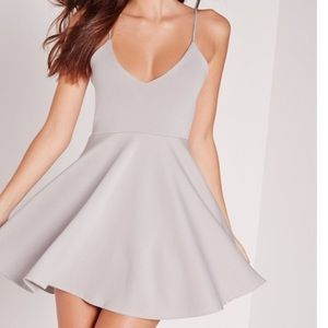 Missguided strappy skater dress